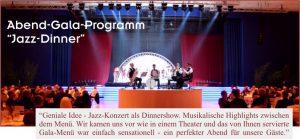 Die Jazzband in München, Augsburg, Ingolstadt, Nürnberg, Regensburg, Straubing, Passau, Salzburg, Zürich