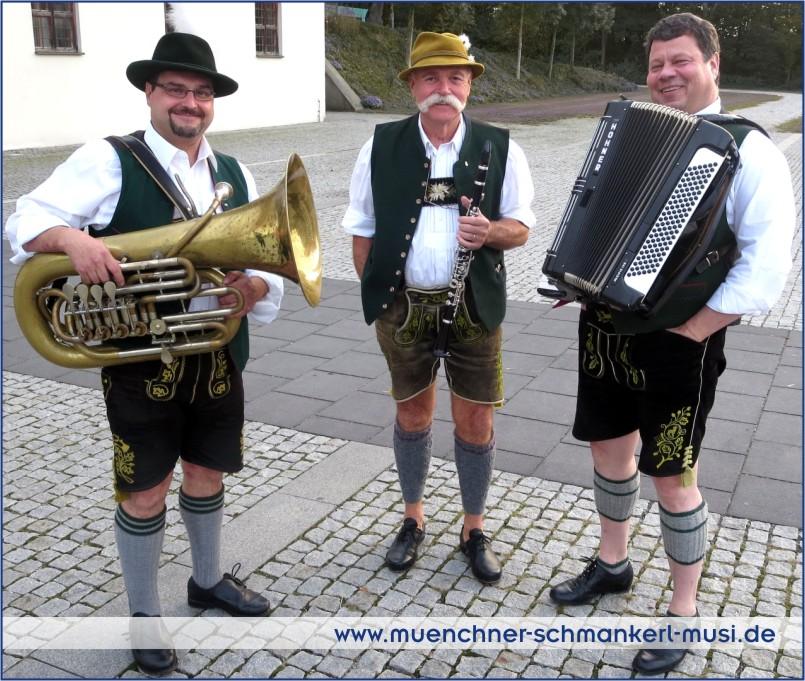 Bayerische Musiker in München, Augsburg, Ingolstadt, Nürnberg, Regensburg, Straubing. Passau, Salzburg, Zürich