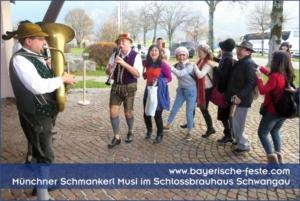 Bayerische Feste in München, Augsburg, Ingolstadt, Nürnberg, Regensburg, Straubing, Passau, Salzburg, Zürich