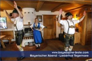 Bayerischer Abend in München, Augsburg, Ingolstadt, Nürnberg, Regensburg, Straubing, Passau, Salzburg, Zürich